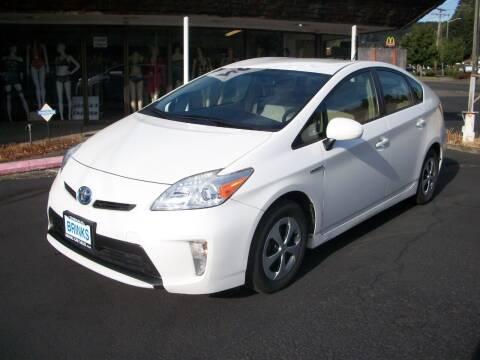 2013 Toyota Prius for sale at Brinks Car Sales in Chehalis WA