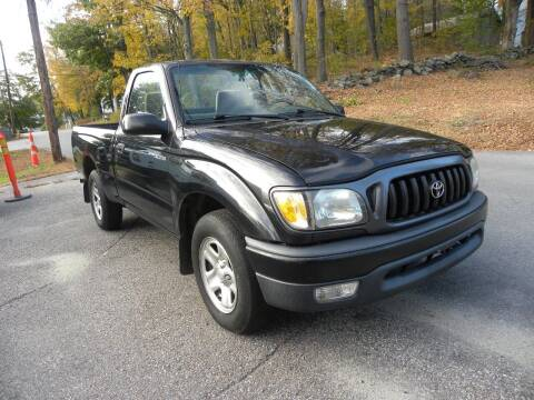 2002 Toyota Tacoma for sale at STURBRIDGE CAR SERVICE CO in Sturbridge MA