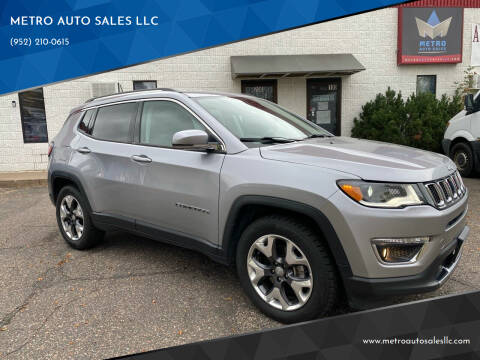 2018 Jeep Compass for sale at METRO AUTO SALES LLC in Blaine MN