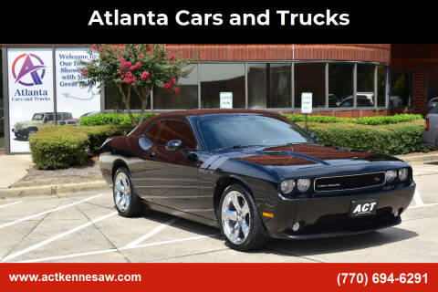 2013 Dodge Challenger for sale at Atlanta Cars and Trucks in Kennesaw GA