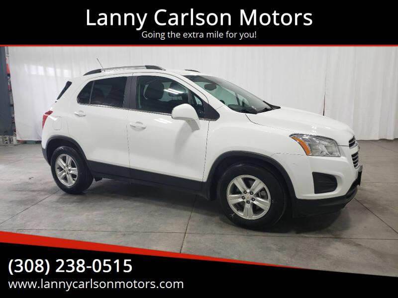 2016 Chevrolet Trax for sale at Lanny Carlson Motors in Kearney NE