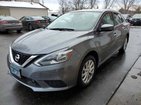 2018 Nissan Sentra for sale at MIDWEST CAR SEARCH in Fridley MN