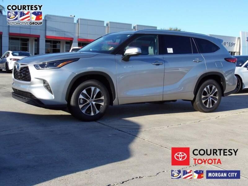 2021 Toyota Highlander Hybrid for sale at Courtesy Toyota & Ford in Morgan City LA
