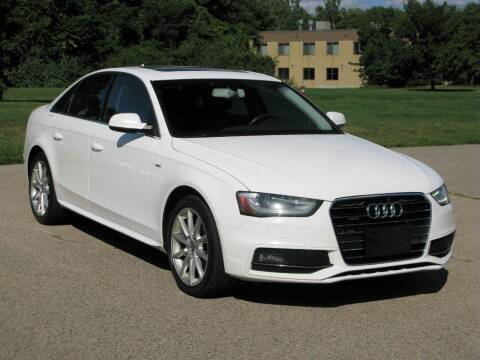 2014 Audi A4 for sale at The Car Vault in Holliston MA