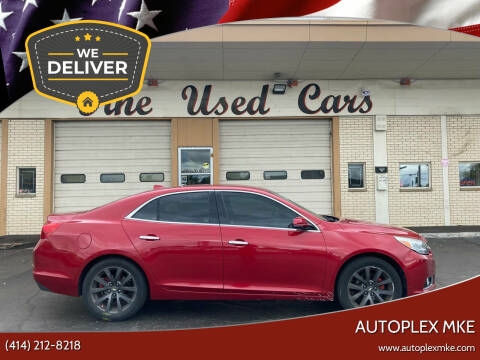2014 Chevrolet Malibu for sale at Autoplexwest in Milwaukee WI