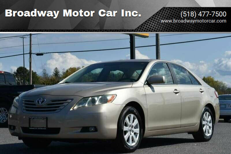 2007 Toyota Camry for sale at Broadway Motor Car Inc. in Rensselaer NY