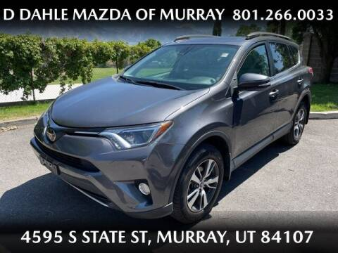 2018 Toyota RAV4 for sale at D DAHLE MAZDA OF MURRAY in Salt Lake City UT