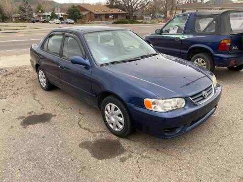 2001 Toyota Corolla for sale at Fast Vintage in Wheat Ridge CO