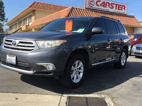 2011 Toyota Highlander for sale at CARSTER in Huntington Beach CA