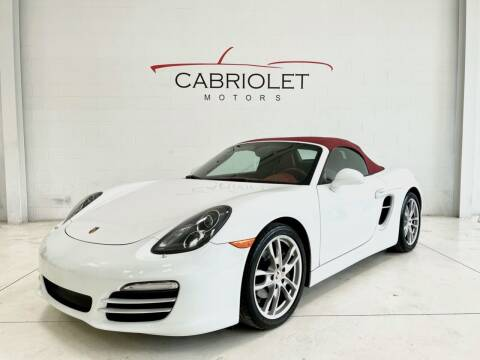 2013 Porsche Boxster for sale at Cabriolet Motors in Morrisville NC