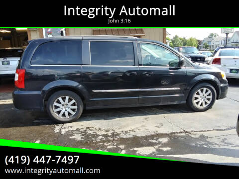 2014 Chrysler Town and Country for sale at Integrity Automall in Tiffin OH