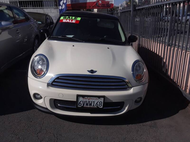 2012 MINI Cooper Hardtop for sale at Western Motors Inc in Los Angeles CA