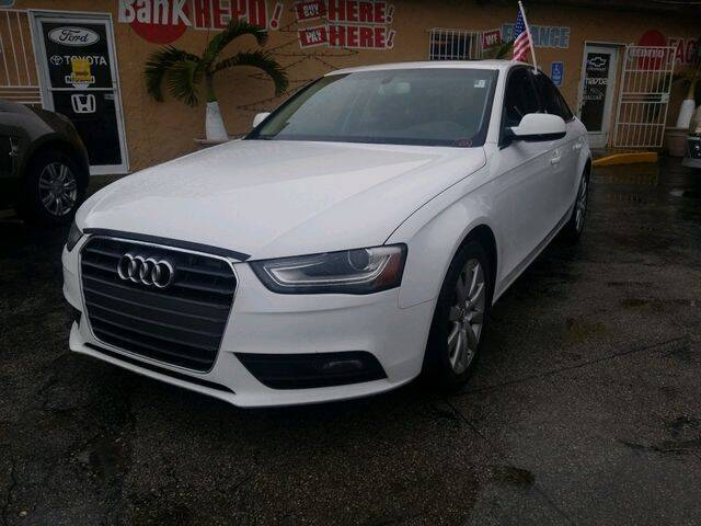 2013 Audi A4 for sale at VALDO AUTO SALES in Miami FL