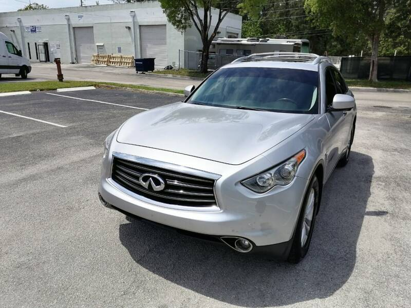 2012 Infiniti FX35 for sale at Best Price Car Dealer in Hallandale Beach FL