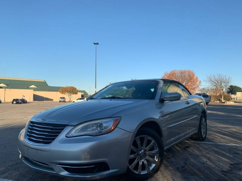 2011 Chrysler 200 Convertible for sale at Hatimi Auto LLC in Austin TX