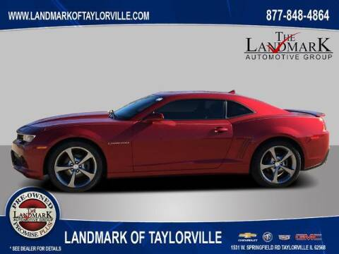2014 Chevrolet Camaro for sale at LANDMARK OF TAYLORVILLE in Taylorville IL
