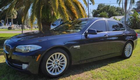 "2011 BMW 5 Series for sale at WHEELS ""R"" US 2017 LLC in Hudson FL"