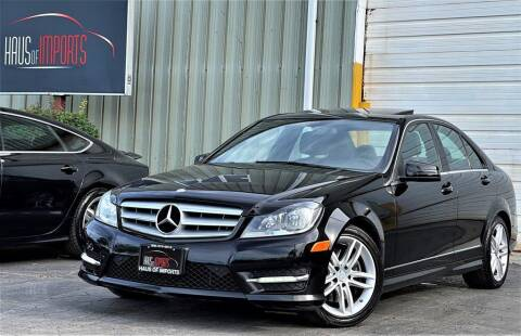 2013 Mercedes-Benz C-Class for sale at Haus of Imports in Lemont IL