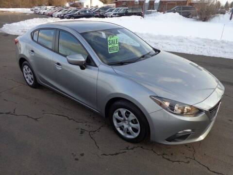 2015 Mazda MAZDA3 for sale at BETTER BUYS AUTO INC in East Windsor CT