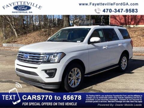 2021 Ford Expedition for sale at FAYETTEVILLEFORDFLEETSALES.COM in Fayetteville GA