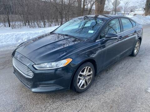 2014 Ford Fusion for sale at Posen Motors in Posen IL