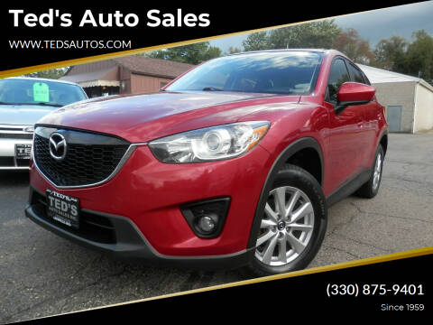 2015 Mazda CX-5 for sale at Ted's Auto Sales in Louisville OH