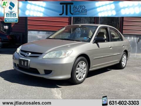 2004 Honda Civic for sale at JTL Auto Inc in Selden NY