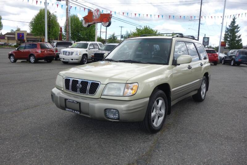 2001 Subaru Forester for sale at Leavitt Auto Sales and Used Car City in Everett WA