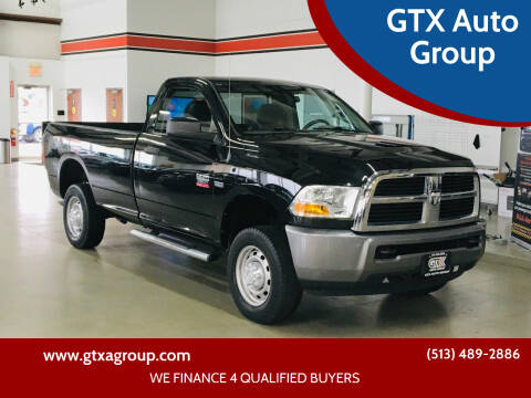 2011 RAM Ram Pickup 2500 for sale at GTX Auto Group in West Chester OH