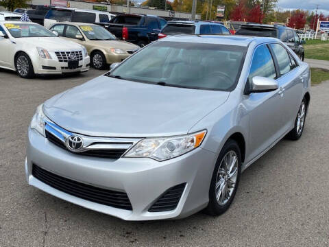 2012 Toyota Camry for sale at Elvis Auto Sales LLC in Grand Rapids MI