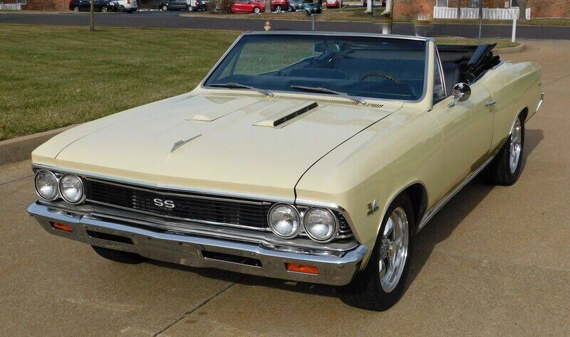 1966 Chevrolet Chevelle for sale at WEST PORT AUTO CENTER INC in Fenton MO