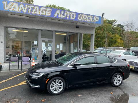 2016 Chrysler 200 for sale at Vantage Auto Group in Brick NJ