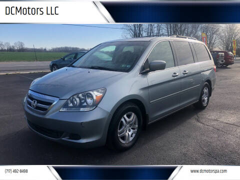 2007 Honda Odyssey for sale at DCMotors LLC in Mount Joy PA