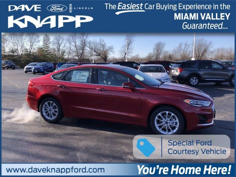 2020 Ford Fusion Hybrid for sale in Greenville, OH