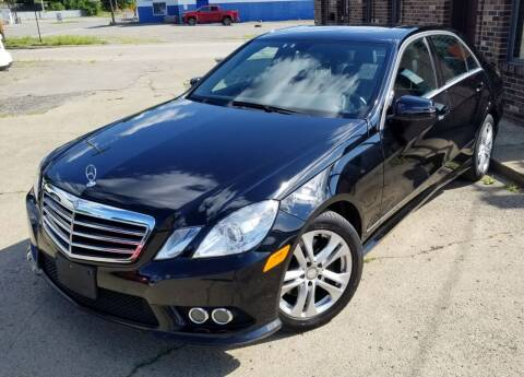 2010 Mercedes-Benz E-Class for sale at SUPERIOR MOTORSPORT INC. in New Castle PA