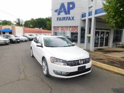 2013 Volkswagen Passat for sale at AP Fairfax in Fairfax VA