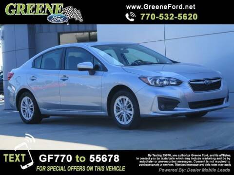 2018 Subaru Impreza for sale at NMI in Atlanta GA