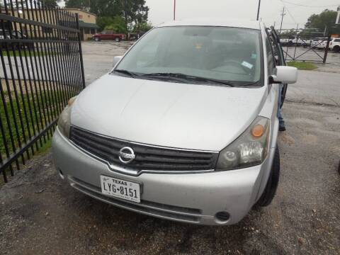 2007 Nissan Quest for sale at SCOTT HARRISON MOTOR CO in Houston TX