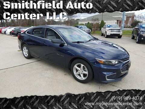 2017 Chevrolet Malibu for sale at Smithfield Auto Center LLC in Smithfield NC