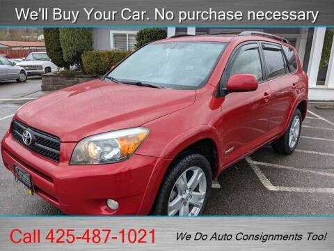 2007 Toyota RAV4 for sale at Platinum Autos in Woodinville WA