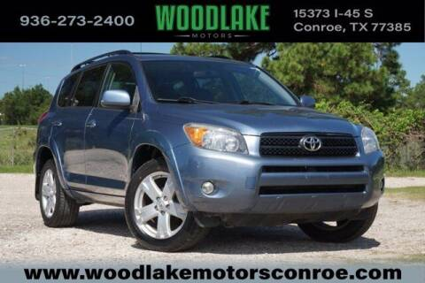 2007 Toyota RAV4 for sale at WOODLAKE MOTORS in Conroe TX