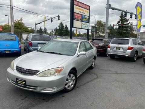 2002 Toyota Camry for sale at Tacoma Autos LLC in Tacoma WA