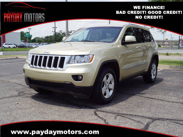 2011 Jeep Grand Cherokee for sale at Payday Motors in Wichita KS