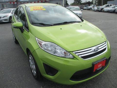 2013 Ford Fiesta for sale at GMA Of Everett in Everett WA