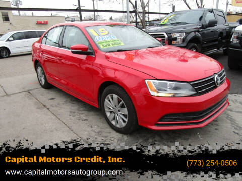 2015 Volkswagen Jetta for sale at Capital Motors Credit, Inc. in Chicago IL