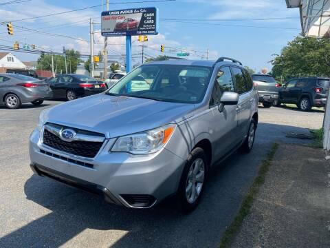 2014 Subaru Forester for sale at Union Avenue Auto Sales in Hazlet NJ