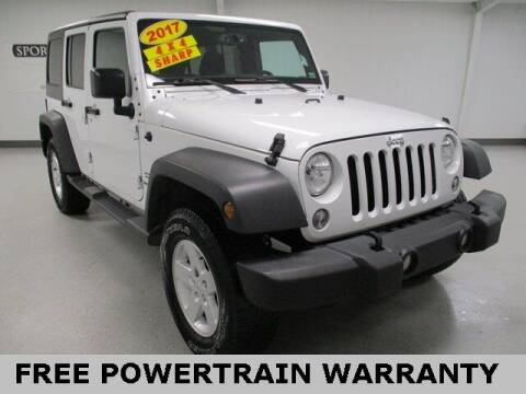 2017 Jeep Wrangler Unlimited for sale at Sports & Luxury Auto in Blue Springs MO