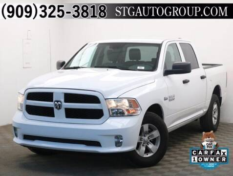 2018 RAM Ram Pickup 1500 for sale at STG Auto Group in Montclair CA
