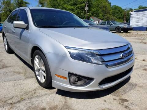 2010 Ford Fusion for sale at DREWS AUTO SALES INTERNATIONAL BROKERAGE in Atlanta GA