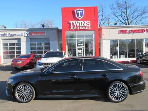 2016 Audi A6 for sale at Twins Auto Sales Inc - Detroit in Detroit MI